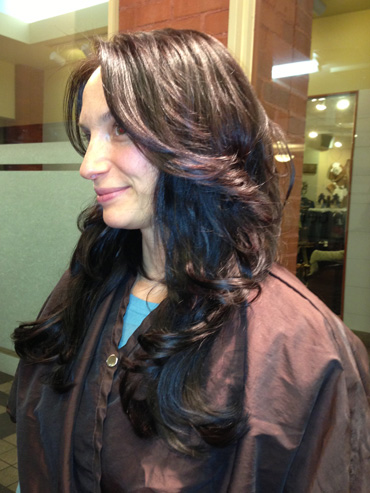 Clip in Hair Extensions in Boulder